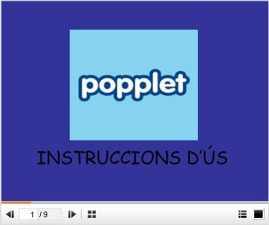 Instruccions popplet ppt