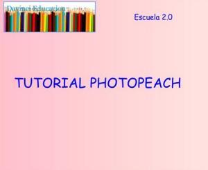 tutorial photopeach