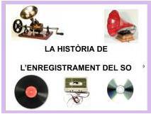 Powerpoint història de l'enregistrament del so