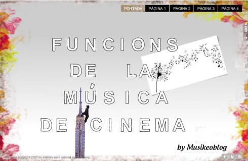 Funcions Música i Cinema
