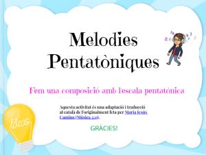 EBOOK MELODIES PENTATÒNIQUES